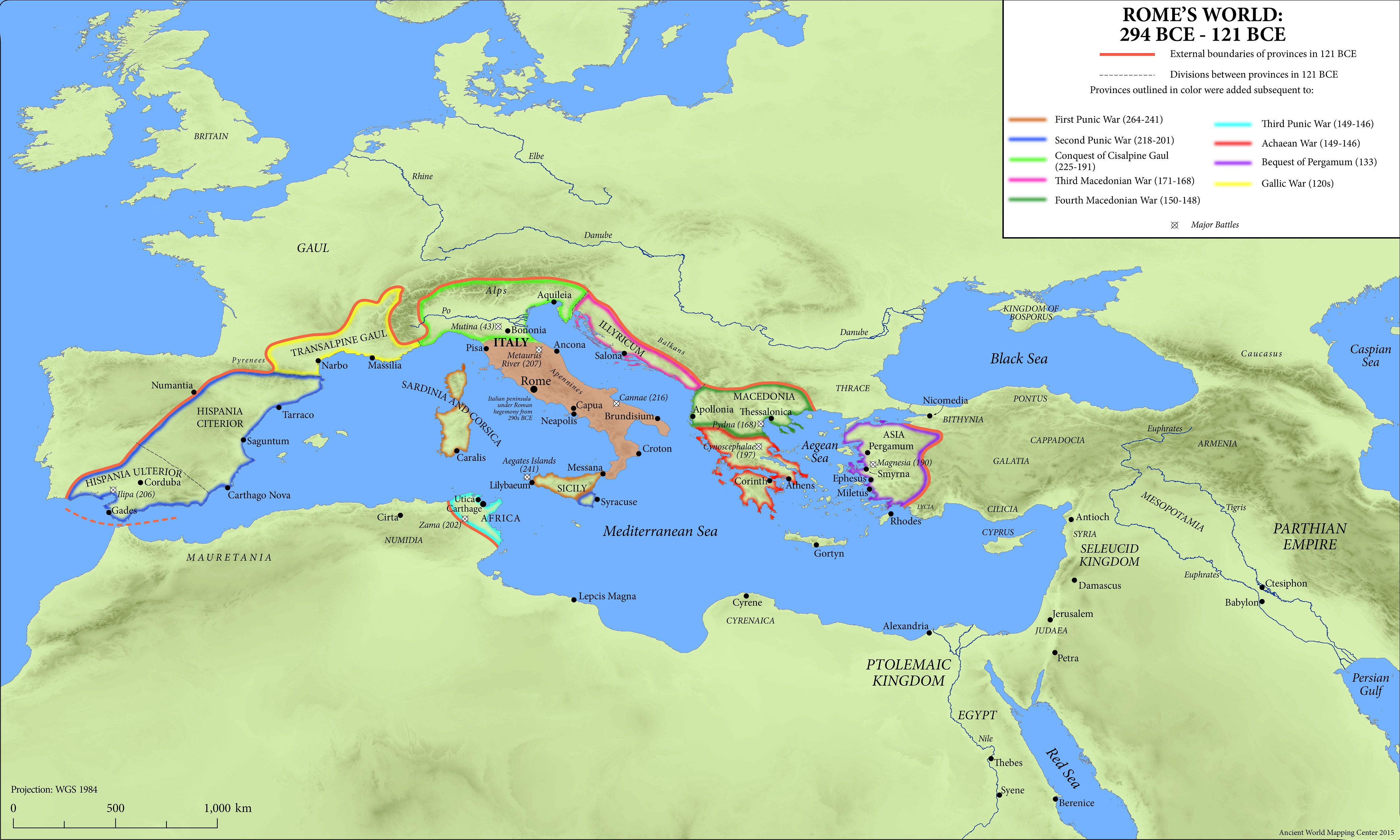 Maps Of The Ancient World