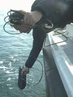 Deploying sonar on the Alex van Opstal