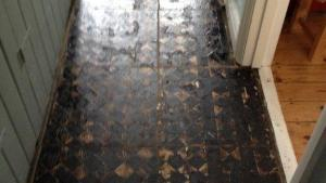 Removing Bitumen From Victorian Tiles Cleaning And