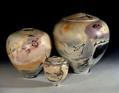 Barrel fired ceramics