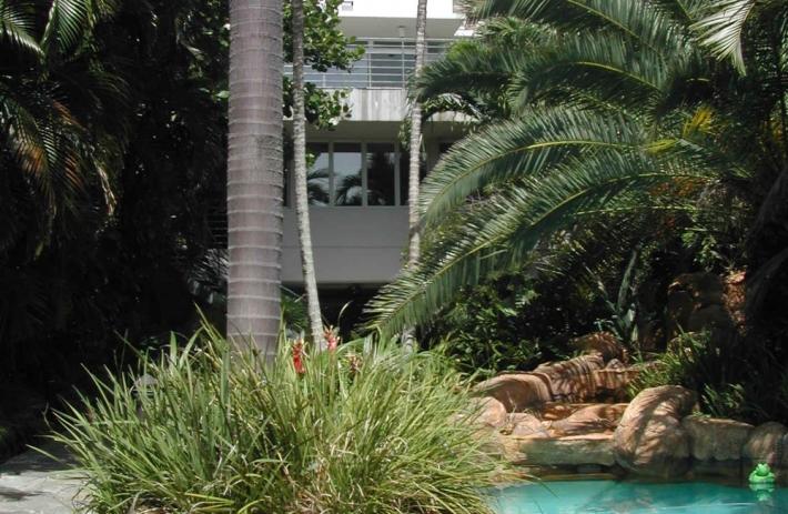 Pool & Path looking West