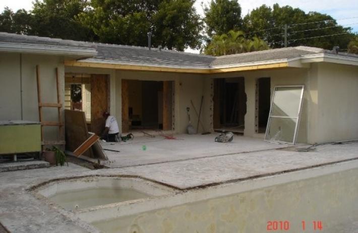 5815 patio construction