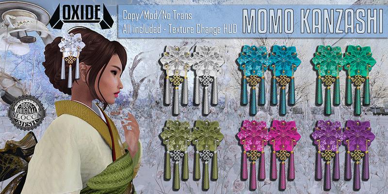 OXIDE Momo Kanzashi @ The Seasons Story