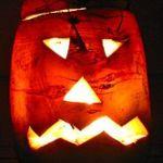 Halloween-Rübe