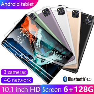2020 New 10 Inch 6G+128GB Android 9.0 Dual Card Dual Camera Rear WiFi Call Mobile Phone Tablet Kids Tablet Gift Tablet