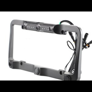 Car accessories auto License Plate Frame reverse camera with sensors parking