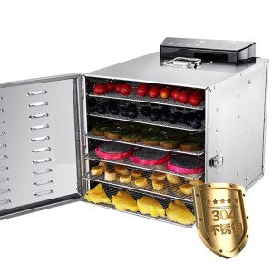 Commercial Food Dehydrator Vegetable Fruit Drying Dryer with 6 Layers