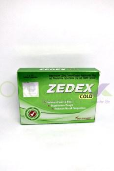 Zedex Caps (Cold) X 10 - Oxycline Pharmacy