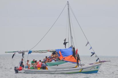 Pêcheur du Belize