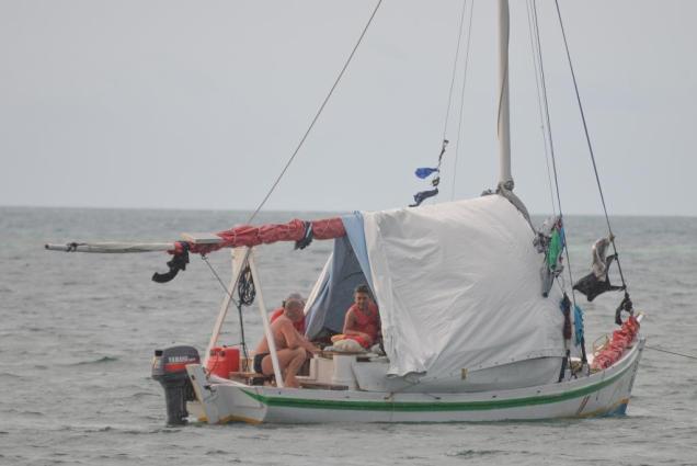 12 Syl à bord de la barque des valeureux pêcheurs