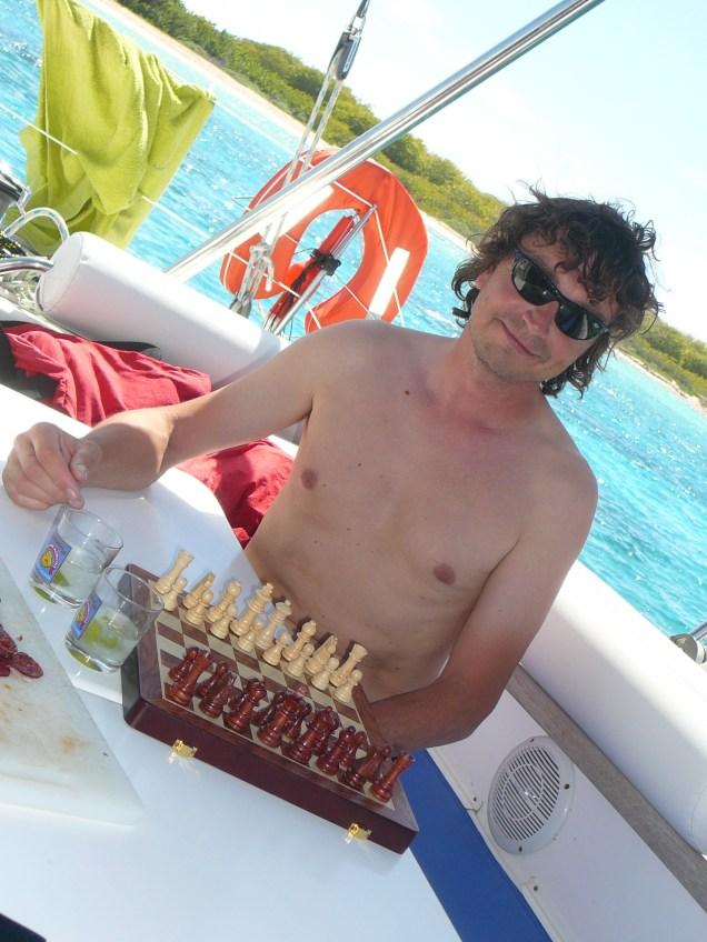 Gilou aux échecs