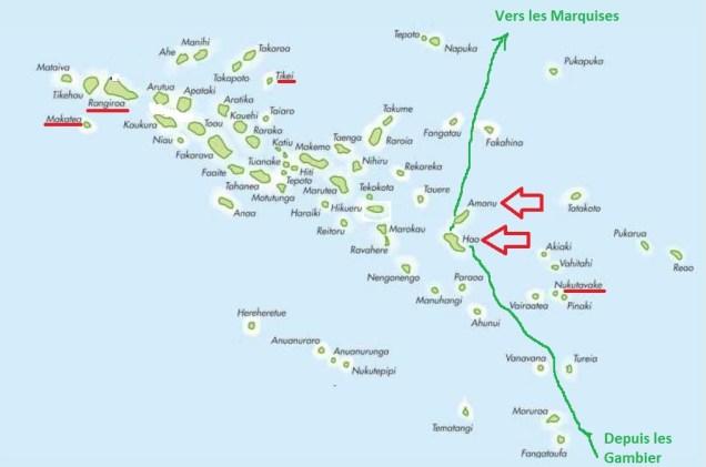 3 Map Tuamotu