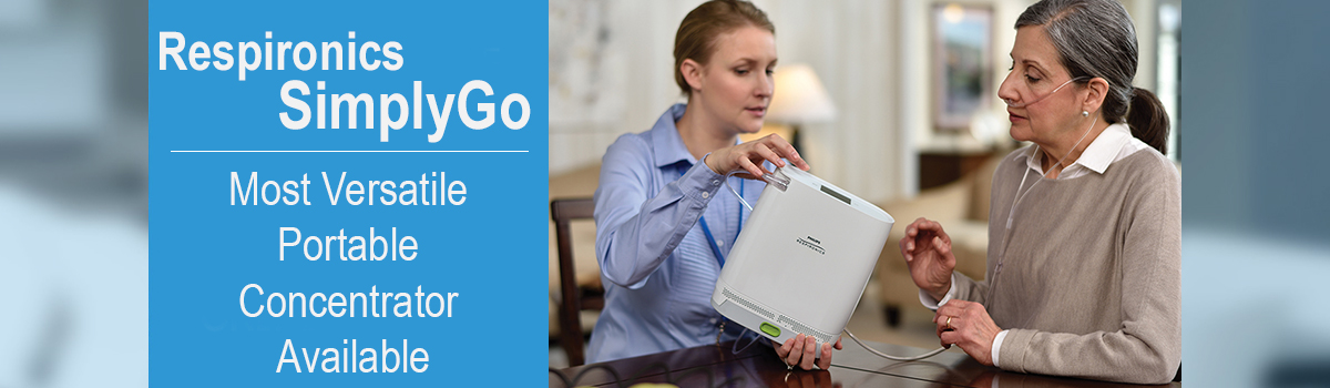 Respironics SimplyGo - The Mot Versatile Concentrator Available