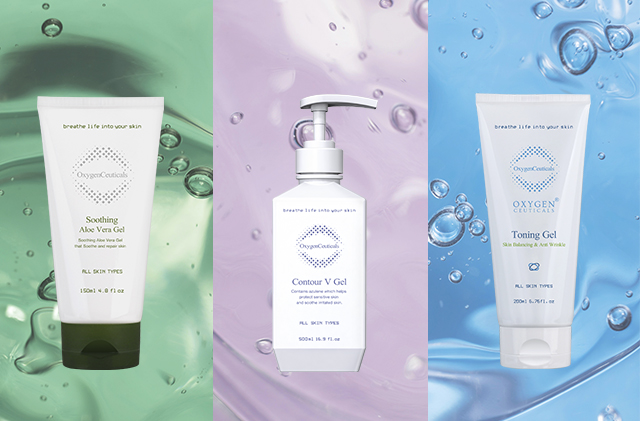 Here Are OxygenCeuticals Soothing Gel Trio!