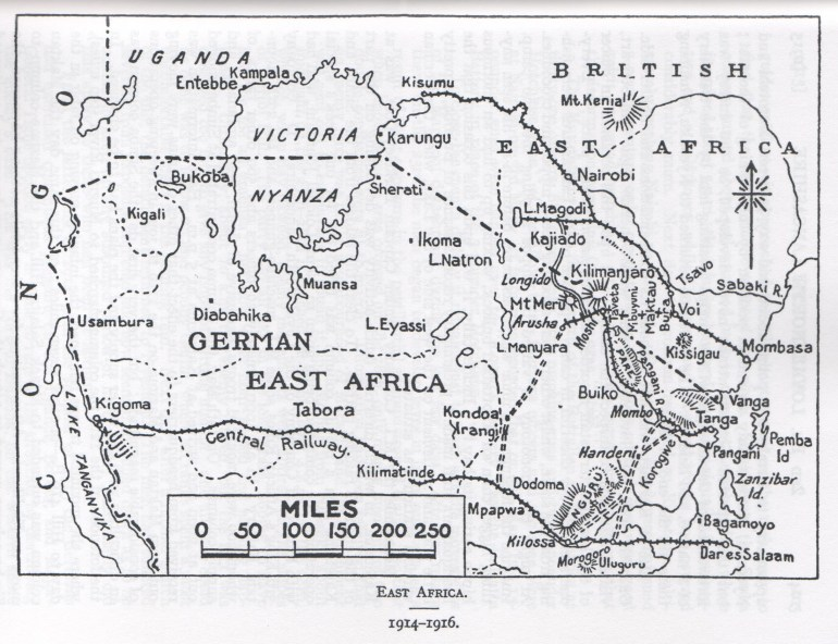 2Nd Loyals In East Africa 1914-17 | Lancashire Infantry Museum - Part 94 with German East Africa Map 1914