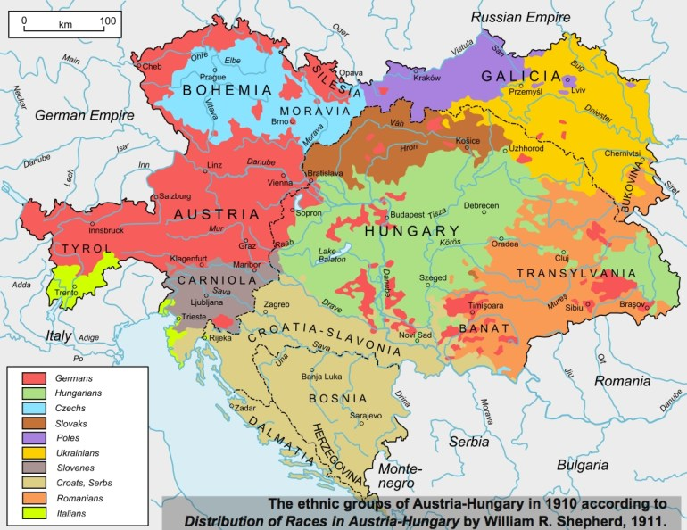 40 Maps That Explain World War I | Vox pertaining to Map Of Germany After Ww1
