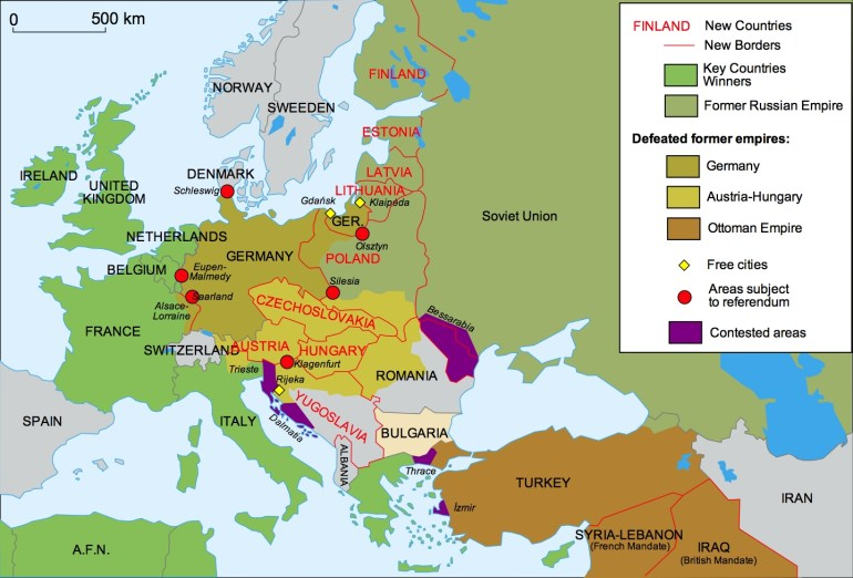 40 Maps That Explain World War I | Vox with regard to Germany Map Before Ww1 And After