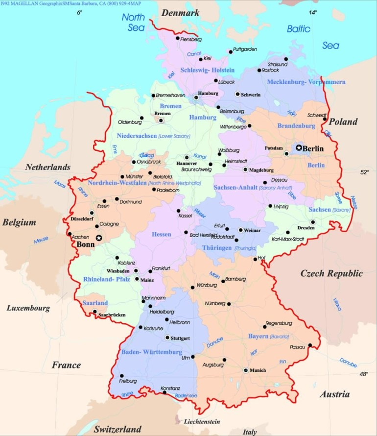 Augsburg Map with Augsburg Germany Map