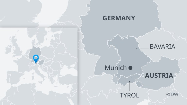 Austria Closes Country Roads To German Travelers | News | Dw | 21.06 in Germany Austria Map