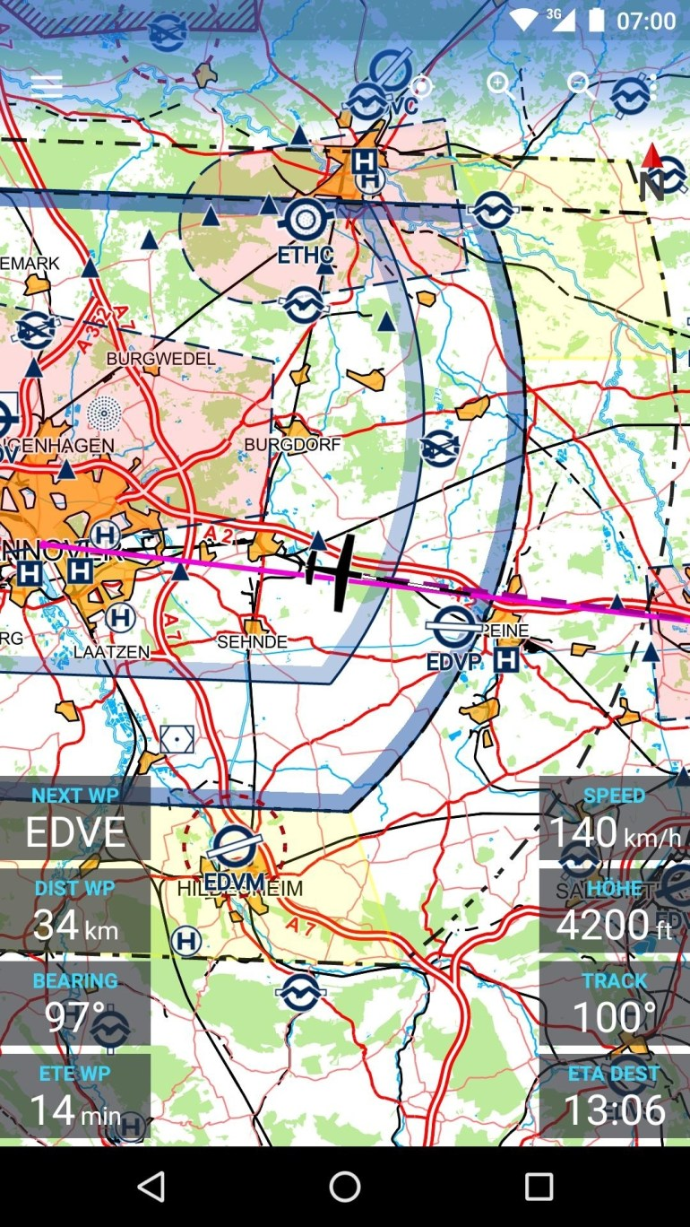 Avia Maps For Android - Apk Download inside Icao Map Germany Download