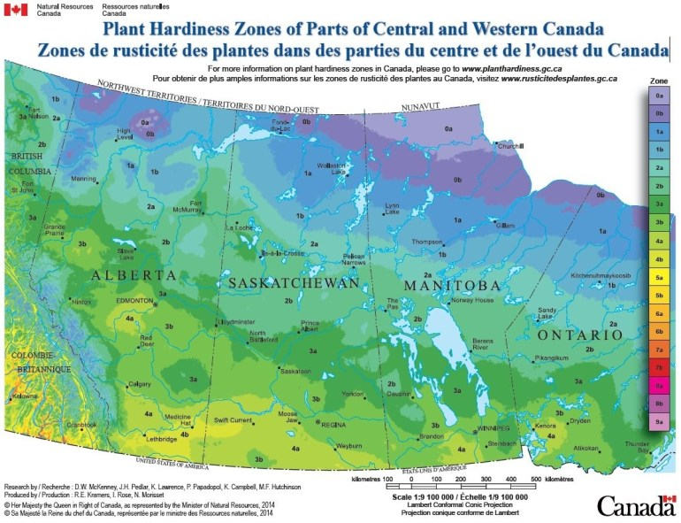 Be In The Zone: Climate Zones For Gardening - Edmonton Horticultural in Germany Climate Zone Map