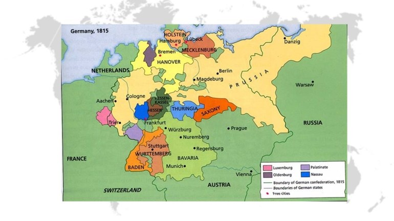 Bellwork: Review: What Is Unification? - Ppt Video Online Download inside German Unification Map Activity
