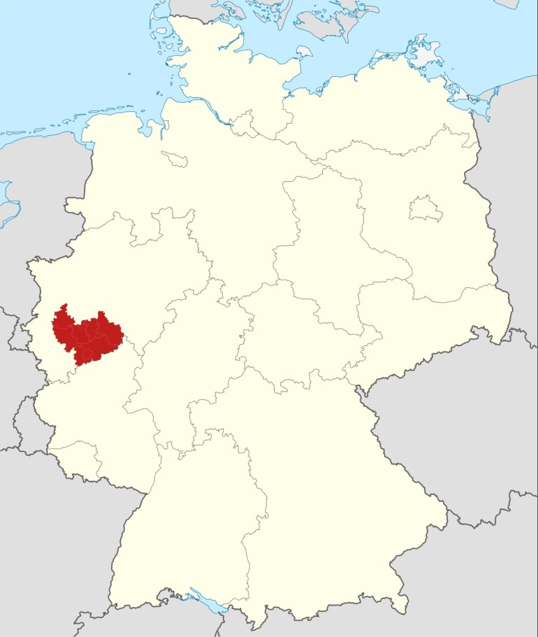 Cologne Bonn Region - Wikipedia with regard to Map Of Cologne Germany Area
