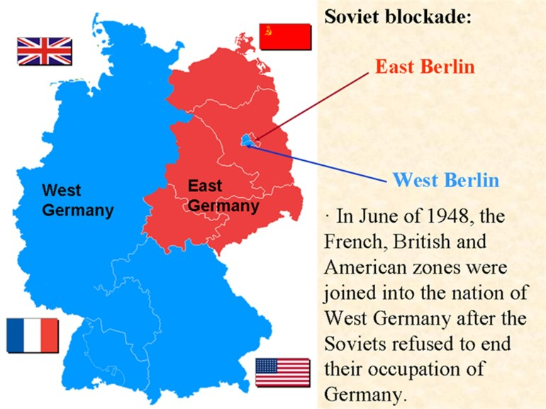 Condition Of Germany Post Wwii | Current Affairs | Ias Parliament with regard to Berlin East Germany Map