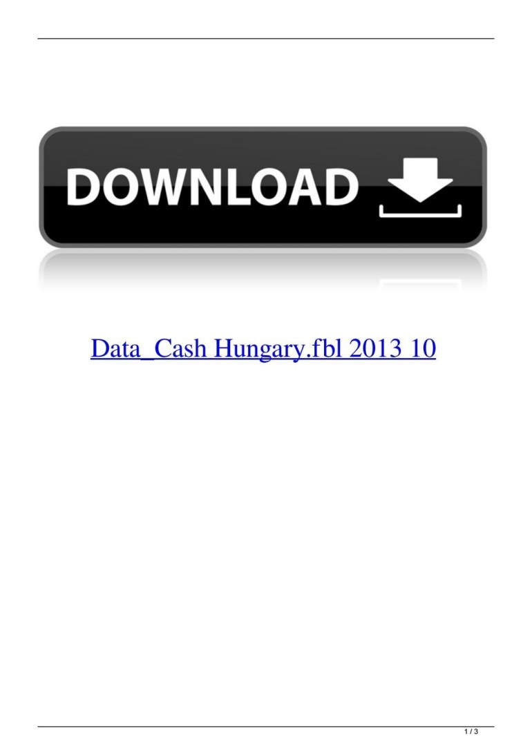 Data_Cash Hungary.fbl 2013 10Sweetunonet - Issuu with regard to Map Germany Fbl Download