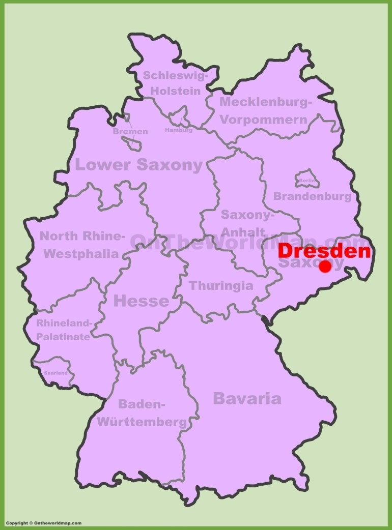 Dresden Maps | Germany | Maps Of Dresden with regard to Dresden Germany Map