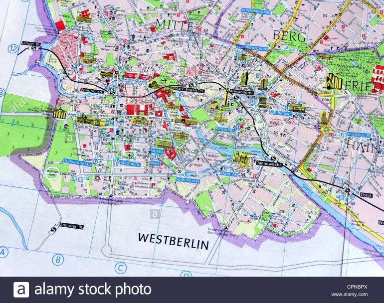 East Germany Stock Photos & East Germany Stock Images - Alamy for Map Of East Germany 1970