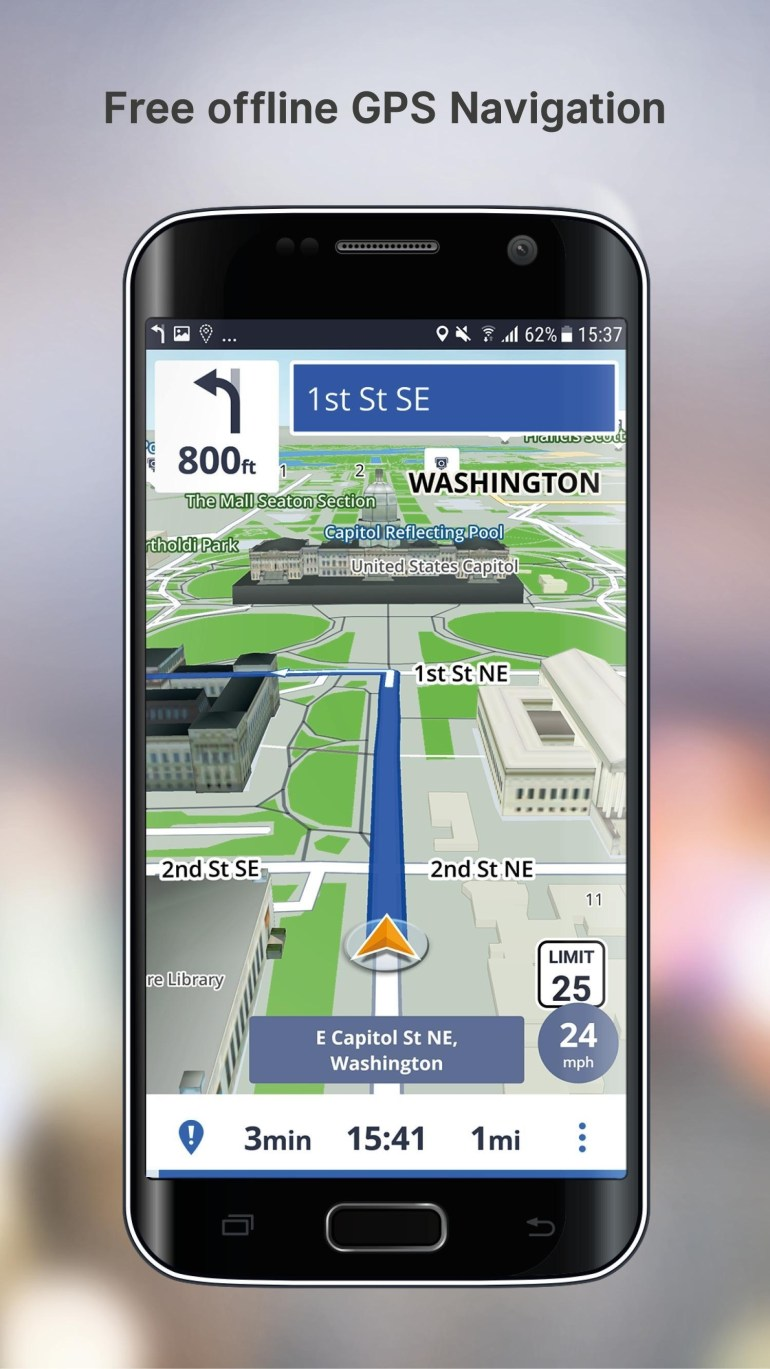 Free Gps Navigation For Android - Apk Download inside Germany Gps Maps Free Download