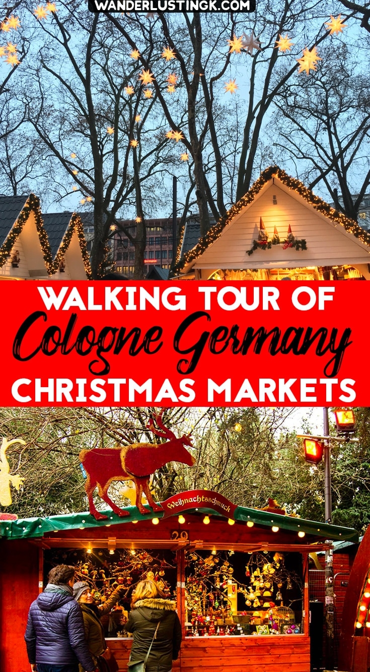 Free Walking Tour Of The Cologne Christmas Markets With Map! with regard to Map Of German Christmas Markets