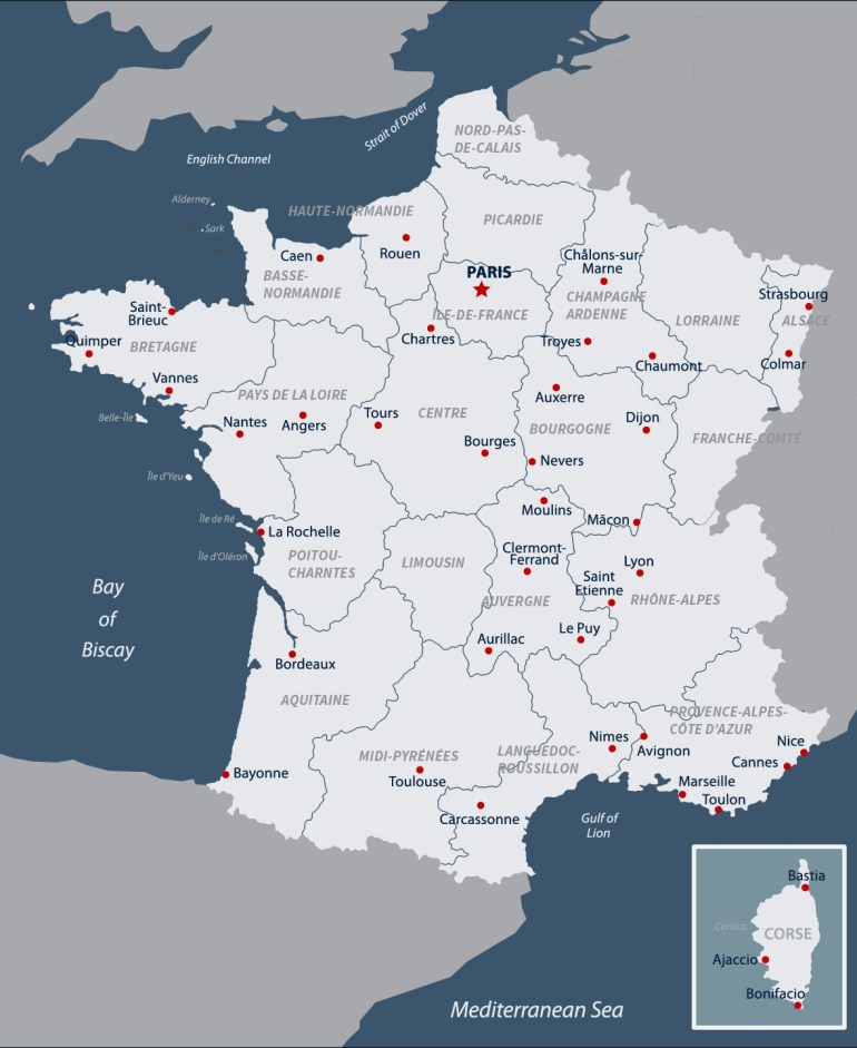 French Geography & Weather | Road Scholar Travel Guide inside Map Of France Belgium And Germany