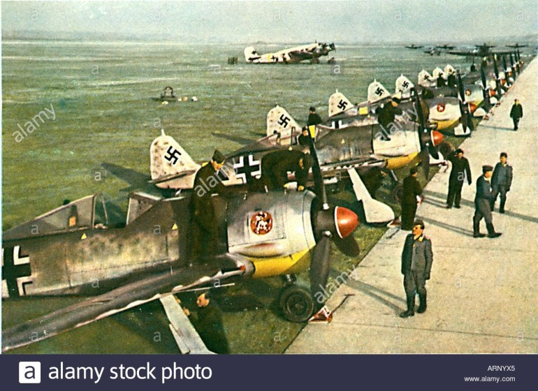 German Airfield 1940 Stock Photos & German Airfield 1940 Stock for Map Of German Ww2 Airfields