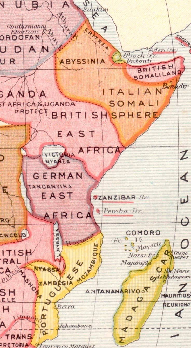 German East Africa Map 1914 | Campinglifestyle inside German East Africa Map 1914