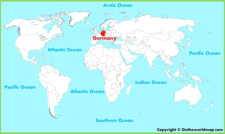 German World Map Maps Germany 96 Best Beautiful At On The Of And within Germany On World Map