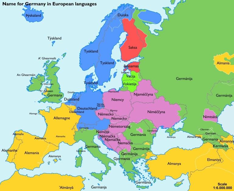 Germany Map Europe - World Wide Maps intended for Germany Map Europe