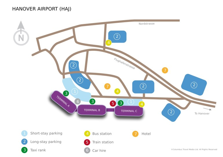 Hanover Airport | Lufthansa ® Travel Guide intended for Hannover Germany Airport Map