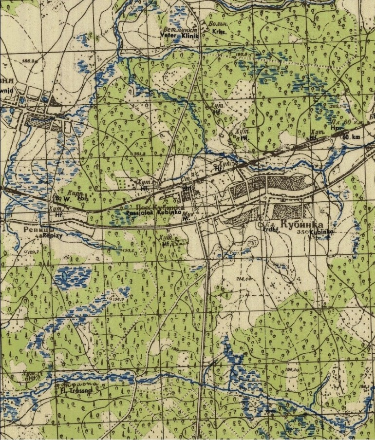 Hps Sims Wehrmacht Wwii Map Series: Moscow (1939-41) with regard to German Military Maps Ww2