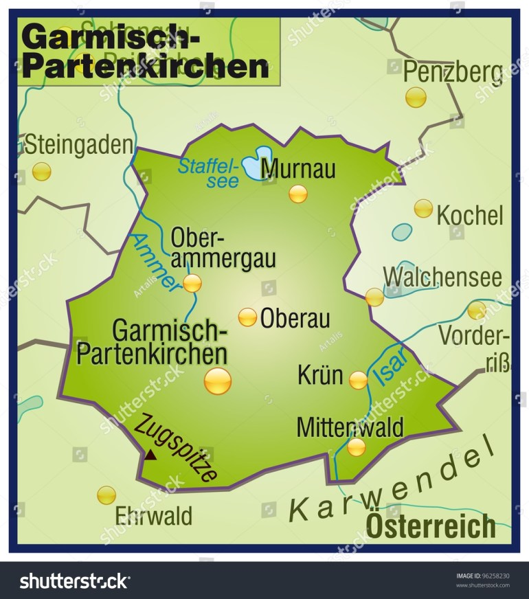 Map Of Germany Garmisch | Twitterleesclub pertaining to Garmisch Germany Map