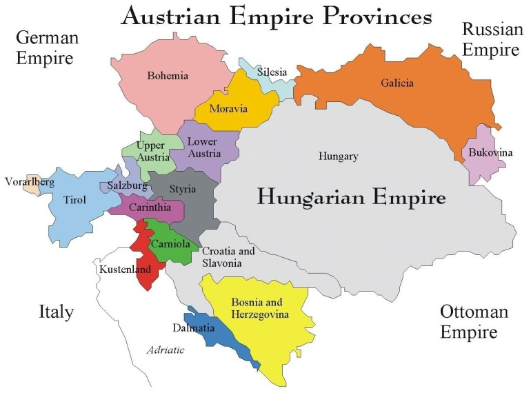 Map Of Germany Hungary And Austria | Download Them And Print intended for Map Of Germany Austria And Hungary