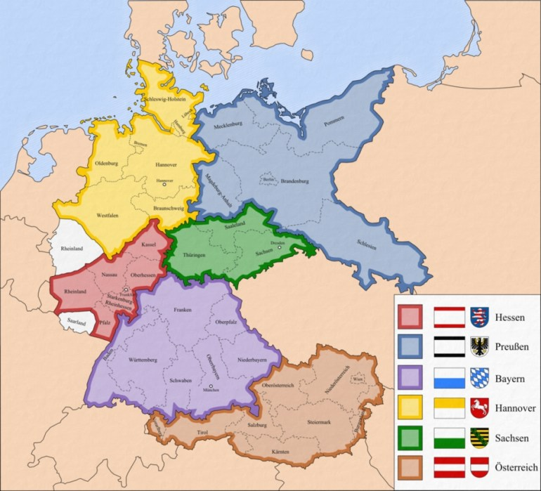 Map Of Germany's Planned Division According To The Roosevelt Plan within Map Of Germany After Ww2