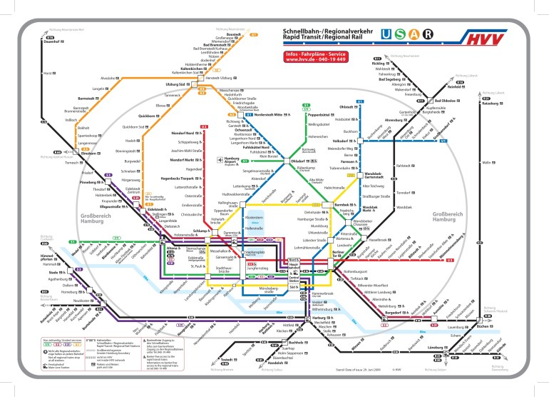 Mapa Metro Hamburgo (Hamburg U-Bahn) - Mapa Metro within Metro Map Hamburg Germany