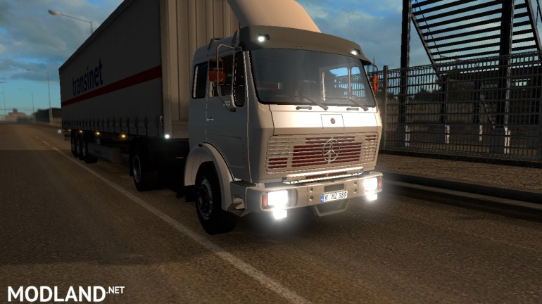 Mercedes 2521 Classical German Truck Mod For Ets 2 in Download Map German Truck Simulator