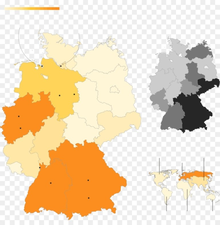 Orange Tree Png Download - 1600*1610 - Free Transparent West Germany in West Germany World Map