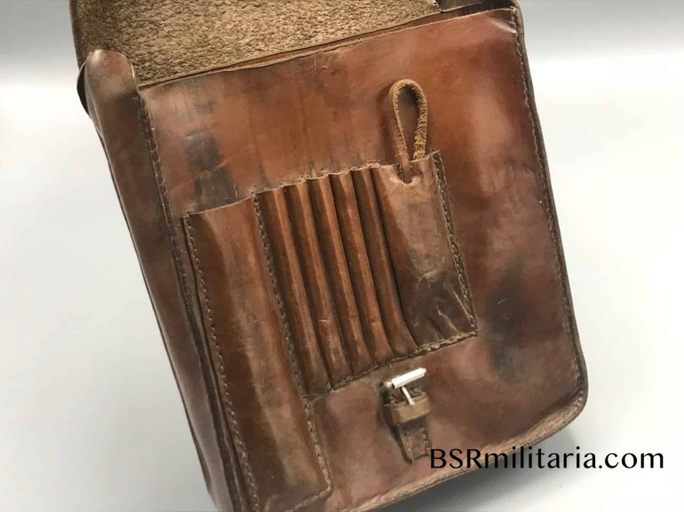 Original German Wwii Leather Map Case with regard to German Leather Map Case