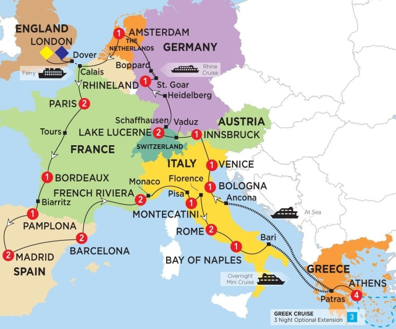 Pingracelyn Goldensoph On Backpack Europe In 2019   Spain Travel with regard to Map Of France Germany And Switzerland