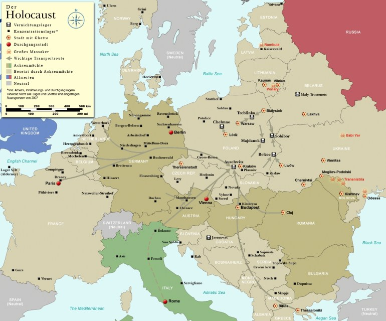 "Polish Death Camp"" Controversy - Wikipedia throughout Map Of Concentration Camps In Germany And Poland"