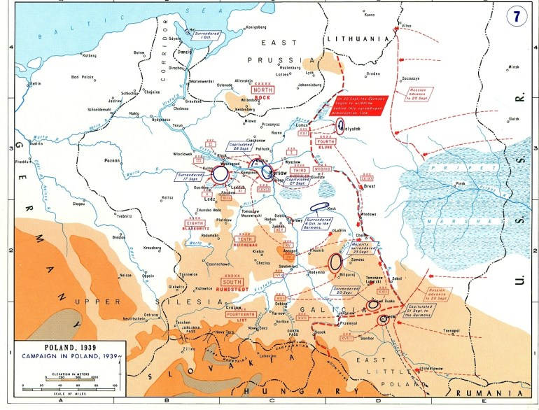 Soviet Order Of Battle For Invasion Of Poland In 1939 - Wikipedia within Germany Map 1939